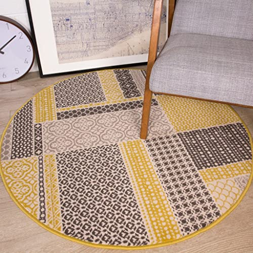 Circle Rugs For Living Room Amazon Co Uk