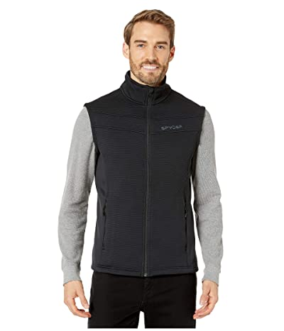 Spyder Encore Fleece Vest (Black) Men