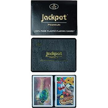 Jackpot Premium 2 Piece Set Design 3 Playing Cards