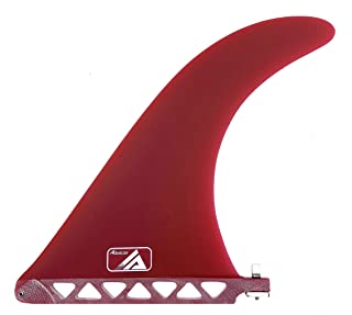 AQUBONA FCS or Futures Sizes Board Fins Surfboard Fiberglass Fins for Surfing with Fin Bag, Screws, and Fin Key
