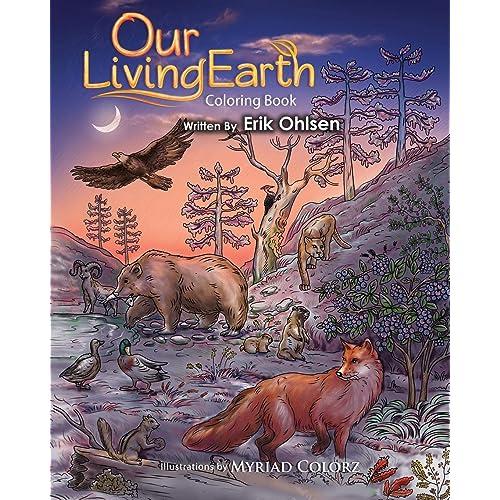 Earth Science Coloring Book Amazon Com