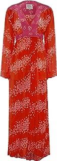 Ossie Clark x Primrose Park Women's Ophelia Maxi Dress Red