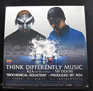 RZA & MF Doom / Aesop Rock & Del Tha Funkee Homosapien - Biochemical Equation / Preservation - Lp Vinyl Record