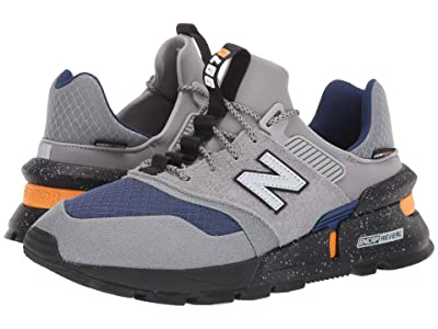 New Balance Classics 997 Sport (Steel/Techtonic Blue Suede/Nylon) Men