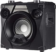 AmazonBasics Party Speaker – Wireless PA Speaker with Lights, Radio, Bass Boost,..