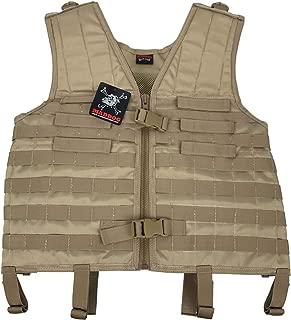 Maddog Tactical Milsim Molle Vest - Tan