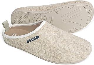 6f99bb5f7 ELEWERT® - Natural - Zapatillas de Estar por casa, Hechas en España, Confort