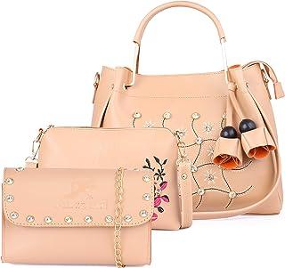 Speed X Fashion Women Sling Bag & Handbag With Combo (Set of 3)