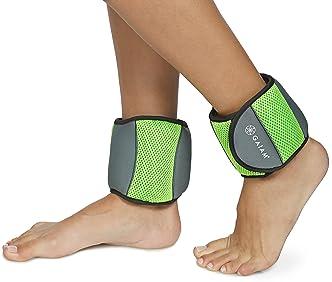 Alomejor 2pcs Ankle Weights Adjustable Strap Wrist Leg Sandbags for Kid Children Fitness Dance Running Strength Training Sports Equipment