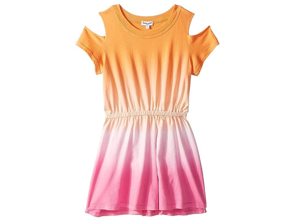 Splendid Littles Dip-Dye Dress (Little Kids) (Desert Flower/Dip-Dye) Girl