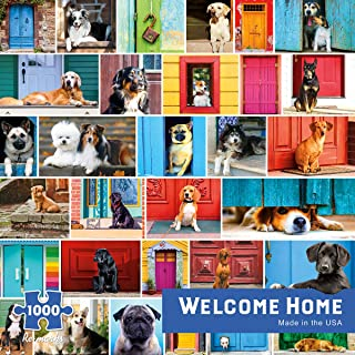 Re-marks Welcome Home 1000pc Puzzle