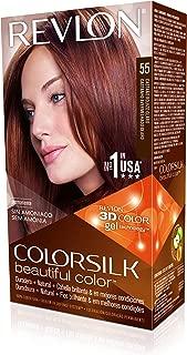 Revlon Colorsilk Beautiful Color, Light Reddish Brown, 1 Count