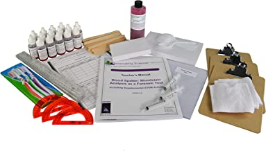Blood Spatter: Bloodstain Analysis as a Forensic Tool Including Supplemental STEM Activity