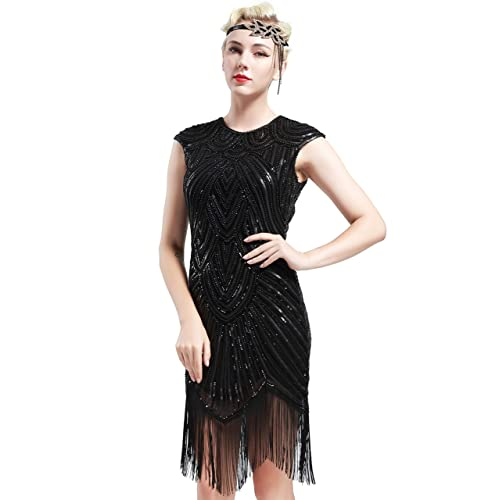 The Great Gatsby Dresses With Sleeve Amazon