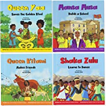 Africa's Little Kings and Queens, by Kunda Kids: Four Diverse Children's Books on African History