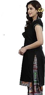 Minu salwar Cotton Printed Suit sets Black(Lucknowipatyala_1005)