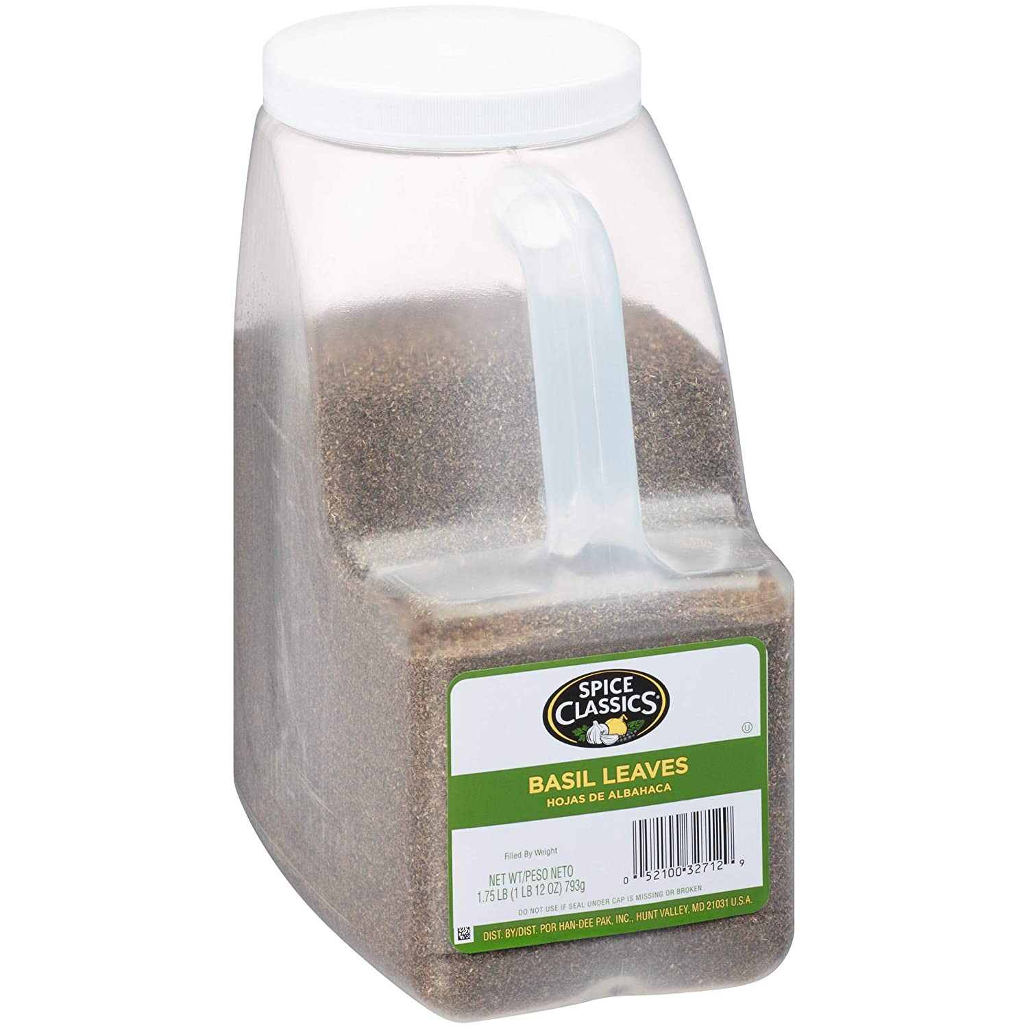 Max 70% OFF Spice Classics Basil Directly managed store Leaves lbs 1.75