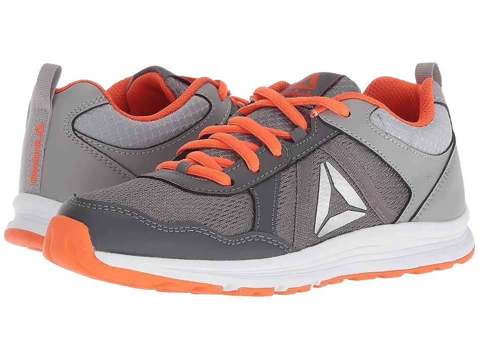 Reebok Kids Almotio 4.0 (Little Kid/Big Kid) (Grey/Lava/Silver) Boys Shoes