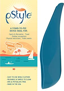 Best pStyle Stand to Pee with Ease While Fully Clothed | Made in The USA | Reusable Pee Funnel is a Game Changer for Camping, Music Festivals, and More! Review