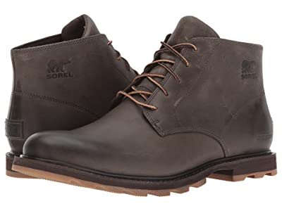SOREL Madson Chukka Waterproof (Major/Cordovan) Men