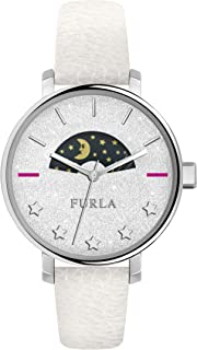 Furla Rea White Dial Ladies Leather Watch R4251118504