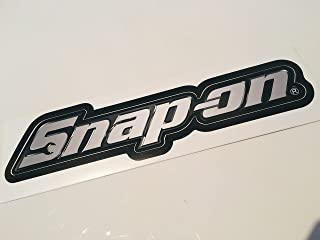 Snap on Tools Chrome Logo Decal Sticker