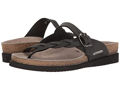 Mephisto Helen Twist (Black Nubuck) Women