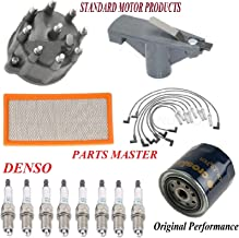 Tune Up Kit Air Oil Fuel Filters Cap Rotor Wire Spark Plug FIT DODGE RAM 1500 V8; 5.9L 1994-2001