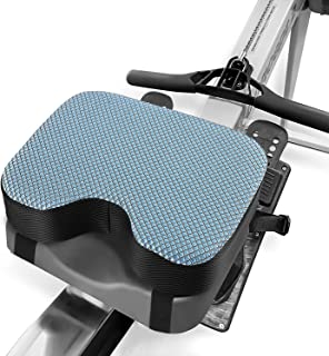 Kohree Concept 2 Rowing Machine Seat Cushion Pad Model 2 with Thicker Memory Foam,  Washable Cover and Straps for Exercise Recumbent Stationary Bike