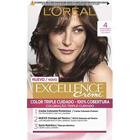 LOréal Paris Excellence Creme Tinte Tono 7 Rubio - 50 ml ...