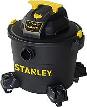 Stanley Wet/Dry Vacuum SL18191P, 10 Gallon 4 Horsepower 16 FT Clean Range Shop Vacuum,..