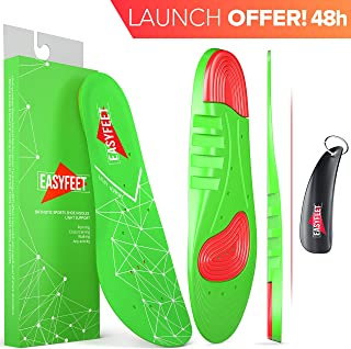 green plantar fasciitis arch support shoe inserts women men insoles for men women orthotics Inserts for flat feet foot high arch athletic running insoles men work boots insoles for men