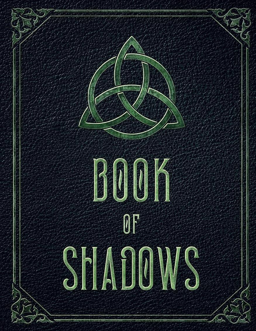 塗抹専門ハックBook of Shadows: Wicca Large Blank Spell Book Grimoire & potion log. Witch journal notebook to record Wiccan magic spells (Witchcraft Workbook)