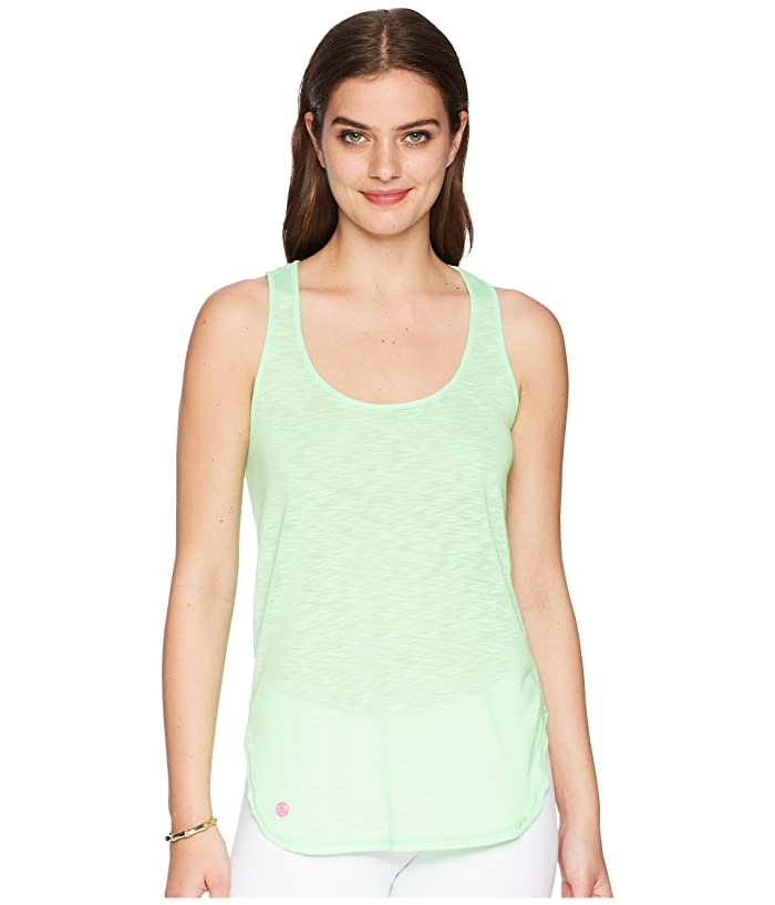Lilly Pulitzer Luxletic Kai Tank (Mermaid Green) Women