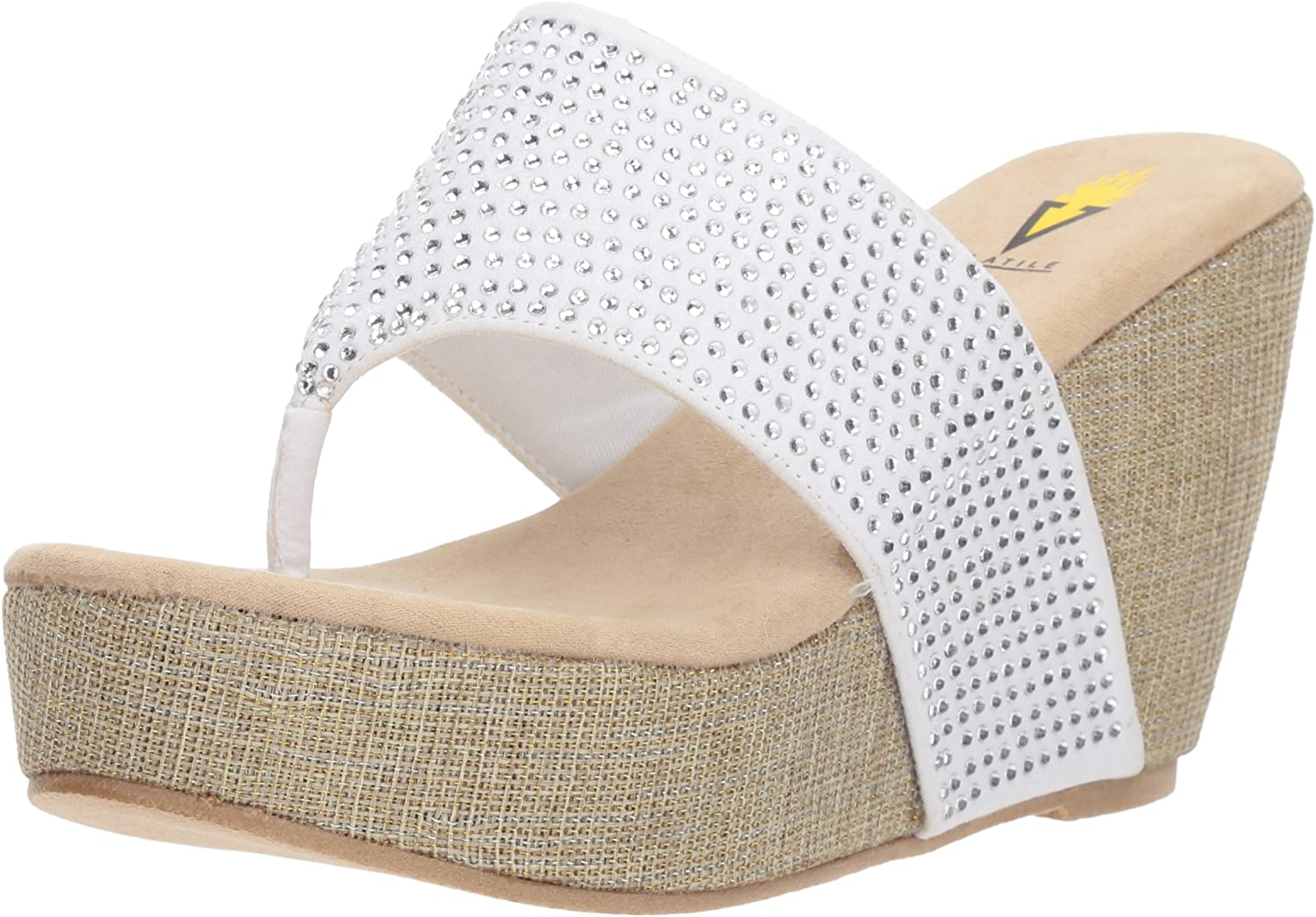 Direct store Volatile Women's Dealing full price reduction Majestic Wedge Sandal