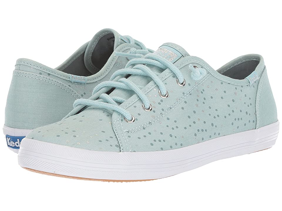 Keds Kids Kickstart Seasonal (Little Kid/Big Kid) (Frostbite Blue Seal) Girl
