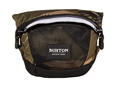 Burton Haversack Small Bag (Martini Olive Woodcut Palm) Bags