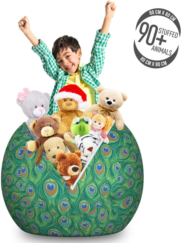alpha-grp.co.jp Furniture Home & Kitchen Stuffed Animal Organizer ...