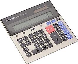 $32 » Sharp QS-2130 12 Digit Commercial Desktop Calculator with Kickstand, Arithmetic Logic (Renewed)