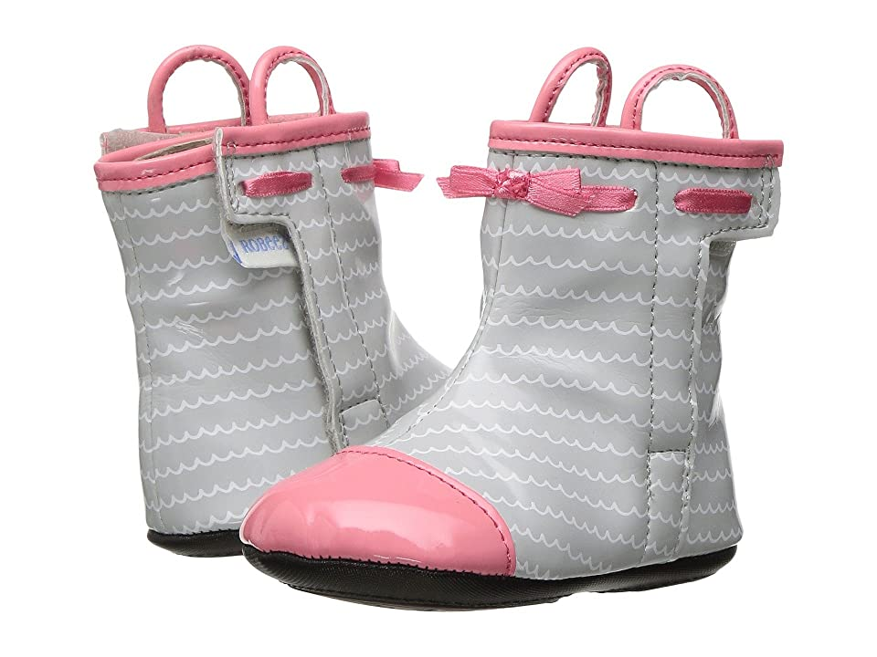 Robeez Zoey Rain Boot Mini Shoez (Infant/Toddler) (Sorbet) Girls Shoes