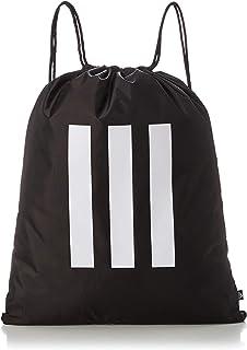 [アディダス] ジムバッグ エッセンシャルズ 3ストライプス ジムサック 60206 ブラック/ホワイト(GN2040)