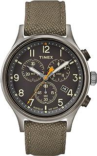 Timex Mens Chronograph Quartz Watch with Nylon Strap TW2R47200