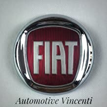 Insignia Escudo Logo Fiat Rojo 500Bravo Grande Punto Idea delantero