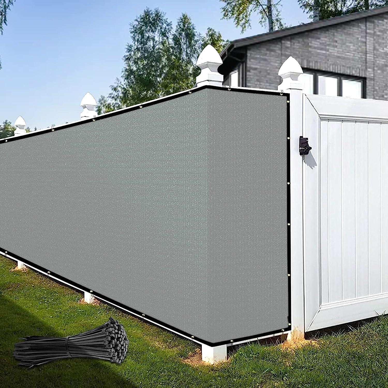 KOOL KOI SHADE 4' x 16' Custom Grey 最安値 全店販売中 Co Screen Privacy Size Fence