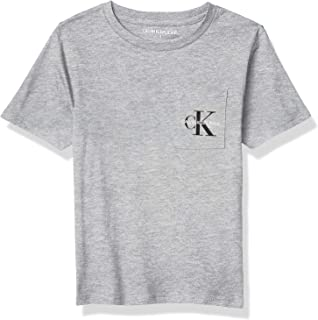 Calvin Klein Boys' Short Sleeve Pocket Logo Tee Shirt