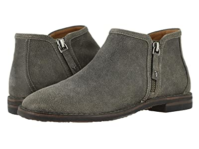 Trask Aubrey (Gray Distressed Italian Suede) Women