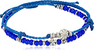 wakami レディース CRAZY OCEANS ANKLET SET OF 2 FREE ブルー