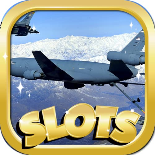 Video Slots Online : Air Force Miracle Edition - Mega Party Casino Jackpot Slot Adventure 12 In 1