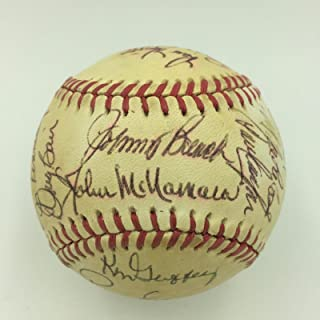 1979 Cincinnati Reds Team Signed Baseball Tom Seaver Johnny Bench Morgan COA - JSA Certified - Autographed Baseballs