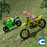 Mountain Kids MotorBike Riding